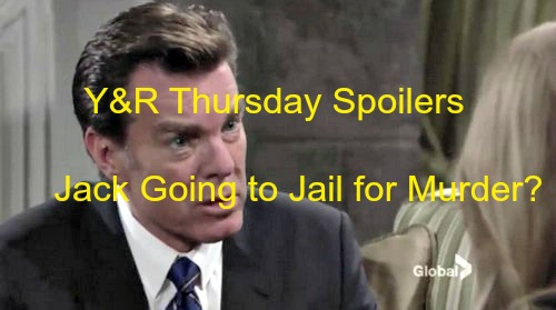 The Young and the Restless (Y&R) Spoilers: Jack Fears Prison Time for Kelly Murder - Grills Christine