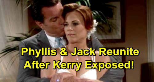 The Young and the Restless Spoilers: Phyllis and Jack Reunite After Kerry Exposed – Phack Back Again?