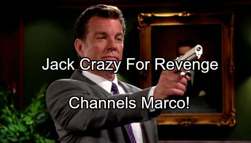 The Young and the Restless Spoilers: Jack Gears Up for Revenge - Channels Marco – Billy, Phyllis and Jill Must Pay