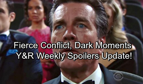 The Young and the Restless Spoilers: Week of May 7-11 Update – Stunning Revelations, Fierce Conflict and Dark Moments