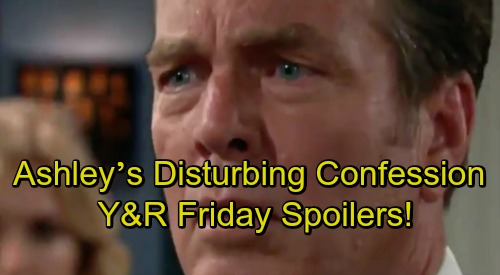 The Young and the Restless Spoilers: Friday, October 12 – Ashley's Disturbing Confession – Jack's Major Meltdown – Lola Battles Rey