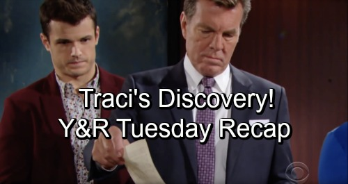 The Young and the Restless Spoilers: Tuesday, October 23 – Traci Discovers Jack's Secret – Lily and Cane's Perfect Fantasy