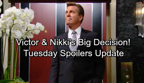 The Young and the Restless Spoilers: Tuesday, May 1 Update – Kyle and Billy Fight Blood-Abbott Clause – Victor and Nikki's Big Decision