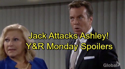 The Young and the Restless Spoilers: Monday, October 15 – Jack and Ashley's Vicious War Erupts – Raging Nikki Handles Note Sender