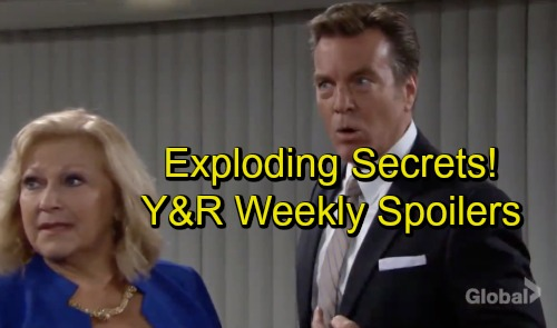 The Young and the Restless Spoilers: Bitter Battles, Exploding Secrets and Complicated Hearts - Preview Week of October 15
