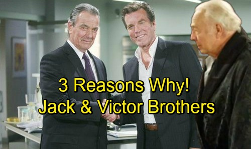 The Young and the Restless Spoilers: Three Reasons Why Jack and Victor Should Be Brothers