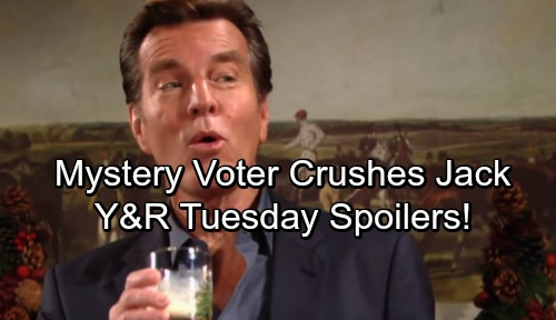 The Young and the Restless Spoilers: Tuesday, December 19 – Jack's Sneaky CEO Power Grab Using Phyllis Derailed By Mystery Vote