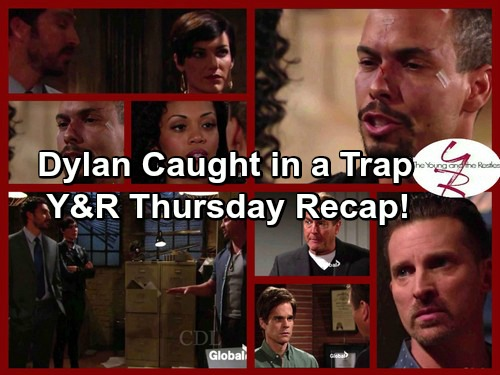 The Young and the Restless Spoilers: Fisk Catches Dylan in a Trap – Devon Dumps Hilary – Jack and Gloria Scheme