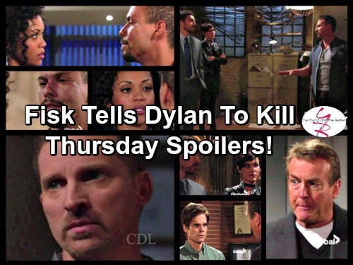 The Young and the Restless Spoilers: Devon Confronts Deceitful Hilary - Dylan Must Earn Fisk's Trust With Deadly Test