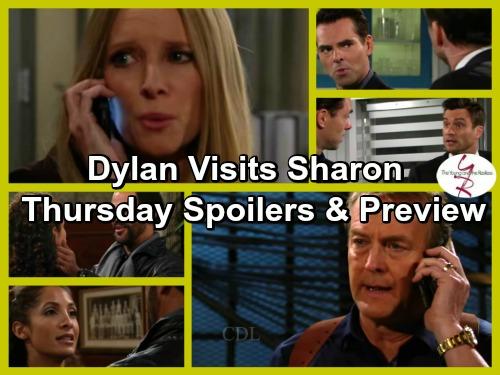 The Young and the Restless Spoilers: Dylan Visits Sharon on the Run From Thugs - Paul Relieved Son's Alive