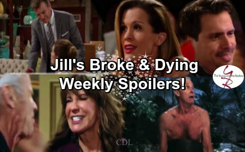 The Young and the Restless Spoilers: Week of February 13 - Jill Learns She's Dying and Broke – Chelsea and Nick's Flirty Fun