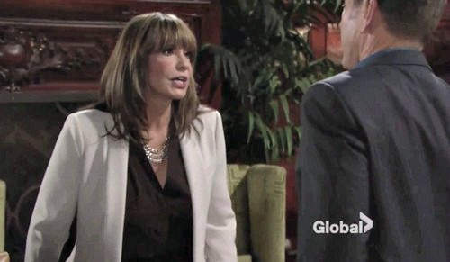 The Young and the Restless Spoilers: Lying Hilary Faces Devon's Questions – Jill on the Warpath – Lily Struts Her Stuff