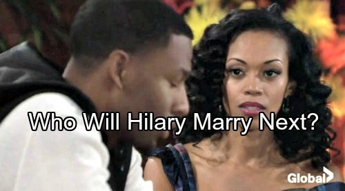 The Young and the Restless Spoilers: Who Will Hilary Marry Next? - Genoa City Surprise Couple