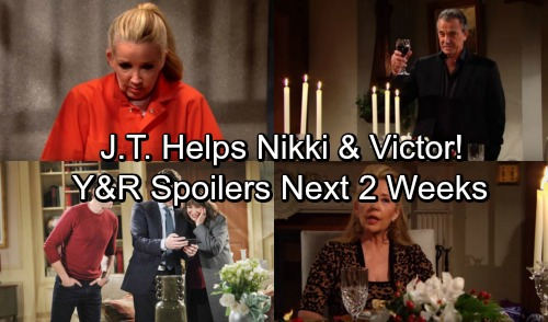 The Young and the Restless Spoilers for Next 2 Weeks: Nikki and Victor Plot With J.T. – Jill's Sneaky Bag of Tricks