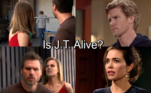 The Young and the Restless Spoilers: J.T.'s Resurrection Teased – Redemption For Victoria's Abuser?