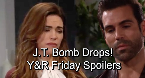 The Young and the Restless Spoilers: Friday, November 23 – J.T. Investigation Bomb Drops – Sharon's Mission Pulls Rey Closer