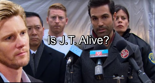 The Young and the Restless Spoilers: Is It Possible J.T. Hellstrom Is Still Alive - How Could It Be?
