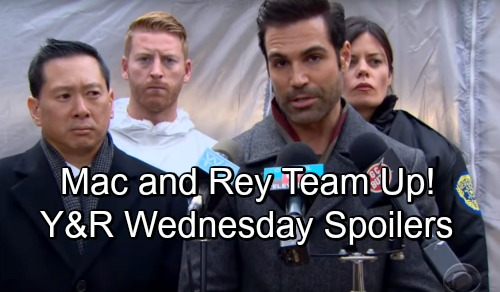 The Young and the Restless Spoilers: Wednesday, November 7 – Mac and Rey Ponder J.T. Puzzle – Billy Enrages Summer – Kyle's Risky Offer