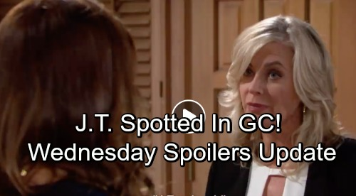 The Young and the Restless Spoilers: Wednesday, June 27 Update – J.T. Spotted in Genoa City - Ashley Compares Jack to Graham