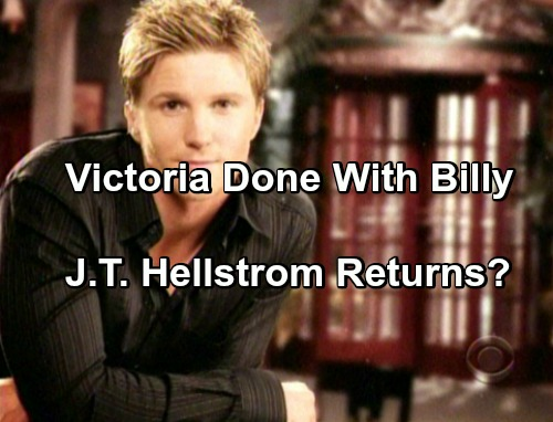 The Young and the Restless Spoilers: Reed's Return Opens Door To J.T. Hellstrom Reboot – Bye-Bye Billy Abbott?