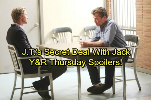 The Young and the Restless Spoilers: Thursday, April 5 – Nick and Sharon's Fierce Faceoff – Jack's Secret Deal With J.T.