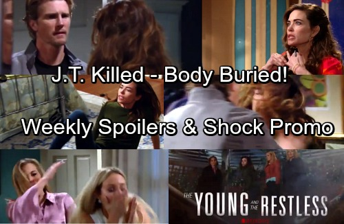The Young and the Restless Spoilers: Week of April 9 - J.T. Killed in Final Showdown – Victoria Gets Help Disposing of the Body