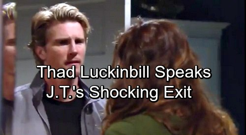 The Young and the Restless Spoilers: Thad Luckinbill Reveals Why He Returned for J.T.'s Destruction – Shocking Story Details