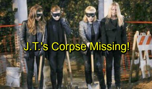 The Young and the Restless Spoilers: J.T. Corpse Crisis, Water Leak Forces Emergency Dig – Body's Missing?