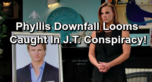 The Young and the Restless Spoilers: Phyllis' Immunity Deal Doesn't Cover New Charges - Traitor Caught In J.T. Conspiracy?