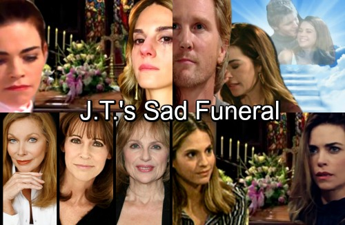 The Young and the Restless Spoilers: Cast Returns Foreshadow Thad Luckinbill's Departure, J.T.'s Funeral
