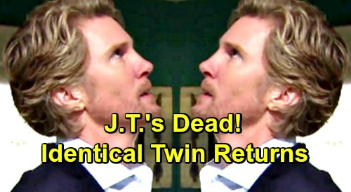 The Young and the Restless Spoilers: J.T.'s Dead - Identical Twin Confronts Phyllis and Nikki - Apologizes To Victoria?