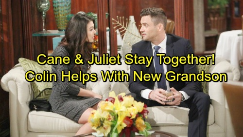 The Young and the Restless Spoilers: Colin's Help Counts With New Grandson – Cane and Juliet Make It As New GC Couple