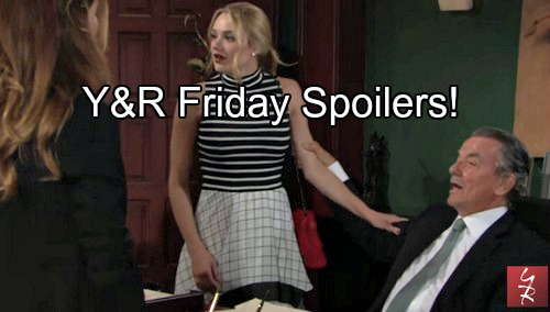 'The Young and the Restless' Spoilers: Chloe Takes Paternity Test, Victor's Sinister Threat - Phyllis and Billy's Elevator Kiss