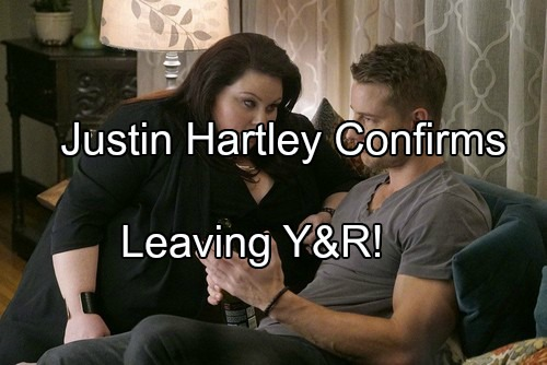 'The Young and the Restless' Spoilers: Justin Hartley Confirms Leaving Y&R, Focusing on This Is Us - Will He Return?