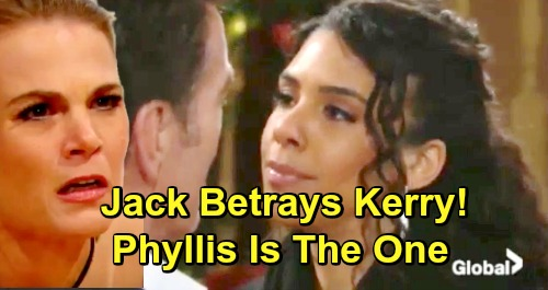 The Young and the Restless Spoilers: Jack's Betrayal of Kerry Looms – Phyllis Is the Ex to Watch Out for?