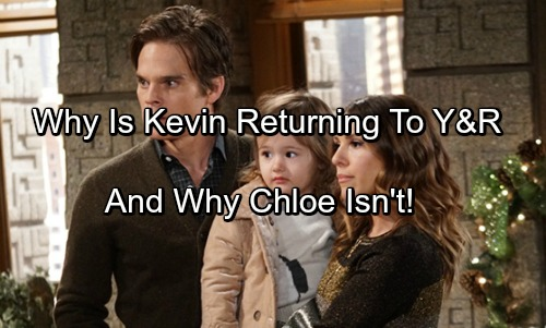 The Young and the Restless Spoilers: Why Kevin Is Returning To Genoa City Without Chloe - Y&R's Big Plan