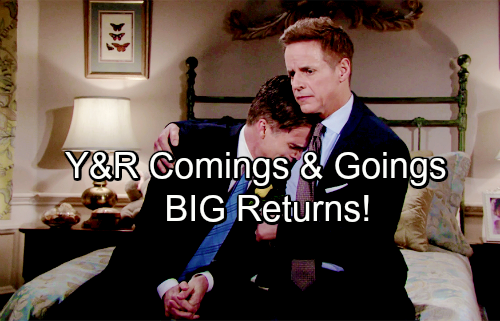 The Young and the Restless Spoilers: Casting News – Comings and Goings – Double Duty for Y&R Stars – Big Returns