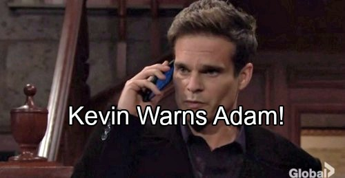 The Young and the Restless Spoilers: Adam Newman's Secret Scheme – Kevin Fears Victor Will Discover the Truth