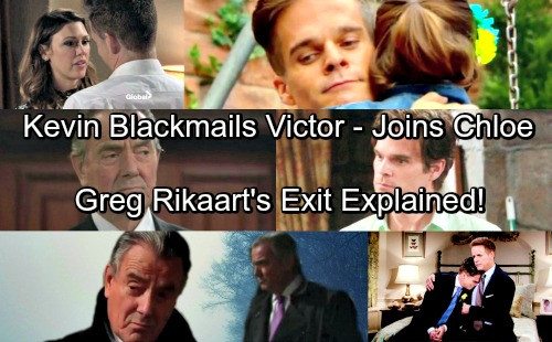 The Young and the Restless Spoilers: Kevin Blackmails Victor For Chloe's Location, Joins Bella's Mom – Greg Rikaart Final Story