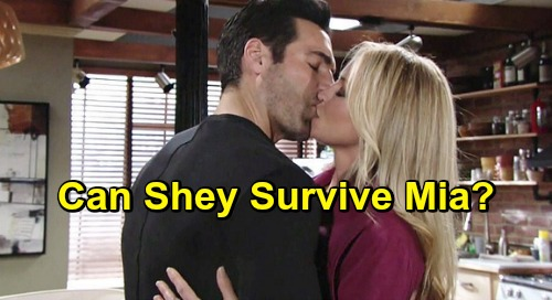 The Young and the Restless Spoilers: Rey and Sharon Happen - But Can Shey Survive Mia's Nasty Scheme?