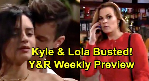 The Young and the Restless Spoilers: Week of April 8 Preview – Phyllis Awful Blackmail Scheme – Kyle Caught Cheating with Lola