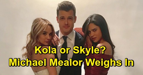The Young and the Restless: Skyle & Kola Fan Wars, Michael Mealor Weighs In – Should Kyle Stick with Summer or Dump Her for Lola?