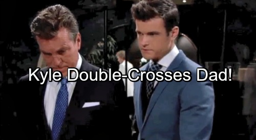 The Young and the Restless Spoilers: Kyle Double-crosses Jack, Seeks the Throne Himself – Victor Sets Jabot Up for Destruction
