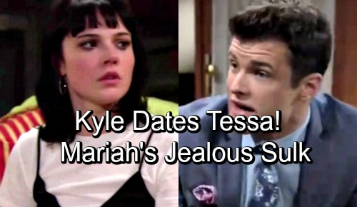 The Young and the Restless Spoilers: Kyle Asks Tessa Out on a Date – Mariah Jealous as Old Love Moves On