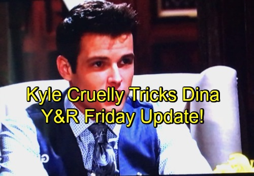 The Young and the Restless Spoilers: Friday, April 27 Update – Hilary Hides Pregnancy Shocker From Devon – Kyle Dates Dina