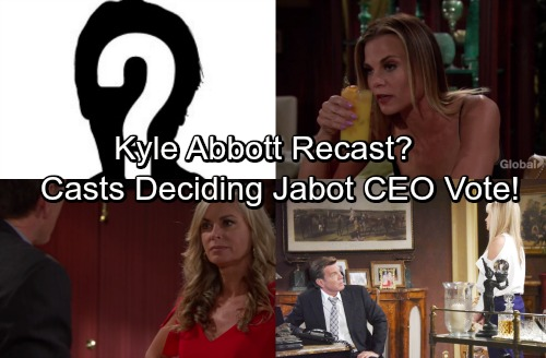 The Young and the Restless Spoilers: Kyle Abbott Recast - Jack and Ashley's Jabot CEO Rivalry Determined By Two Surprise Voters