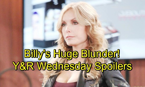 The Young and the Restless Spoilers: Wednesday, August 8 – Billy's Infuriating Bombshell – Victor's Surprising Truce – Sharon Explodes