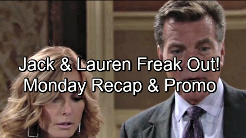 The Young and the Restless Spoilers: Monday, September 10 Update – Sharon Bribes Tessa – Jack and Lauren Fear They're Siblings
