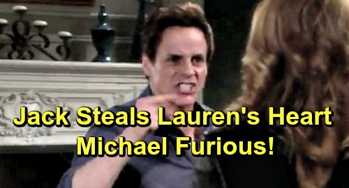 The Young and the Restless Spoilers: Michael Targets Jack for Stealing Lauren's Heart - Phyllis Gains a Vengeful Ally Against Jabot?
