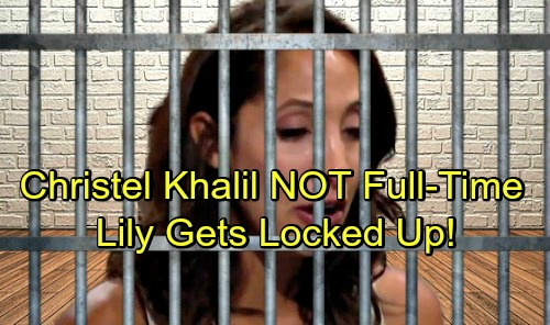 The Young and the Restless Spoilers: Lily Headed to Prison – Christel Khalil's Reduced Airtime Means Devastation for the Ashbys